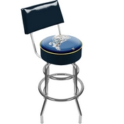 United States Naval Academy Padded Bar Stool with Back