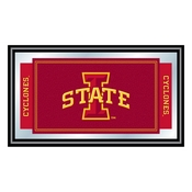 Iowa State University Logo and Mascot Framed Mirror