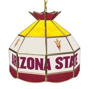 Arizona State University Stained Glass 16 Inch Billiard Lamp