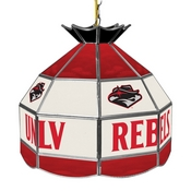 UNLV Stained Glass Billiard Lamp - 16 Inch