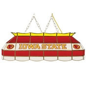 Iowa State University Stained Glass 40 Inch Billiard Lamp