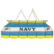 United States Naval Academy Stained Glass 40 In Billiard Lamp