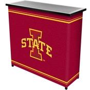 Iowa State University 2 Shelf Portable Bar w/ Case