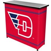 University of Dayton 2 Shelf Portable Bar w/ Case