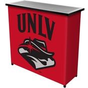 UNLV 2 Shelf Portable Bar w/ Case