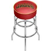 NBA Padded Swivel Bar Stool - Fade - Atlanta Hawks