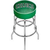 NBA Padded Swivel Bar Stool - Fade - Boston Celtics
