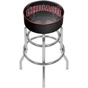 NBA Padded Swivel Bar Stool - Fade - Chicago Bulls