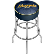 NBA Padded Swivel Bar Stool - Fade - Denver Nuggets