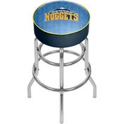 NBA Padded Swivel Bar Stool - City - Denver Nuggets