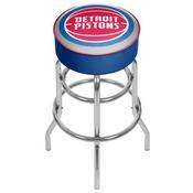Detroit Pistons NBA Padded Swivel Bar Stool