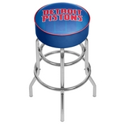 NBA Padded Swivel Bar Stool - Fade - Detroit Pistons