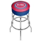 NBA Padded Swivel Bar Stool - City - Detroit Pistons
