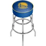 NBA Padded Swivel Bar Stool - City - Golden State Warriors