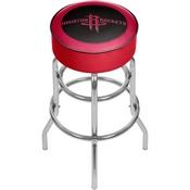Houston Rockets NBA Padded Swivel Bar Stool