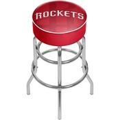 NBA Padded Swivel Bar Stool - Fade - Houston Rockets