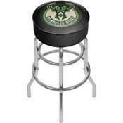Milwaukee Bucks NBA Padded Swivel Bar Stool