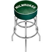 NBA Padded Swivel Bar Stool - Fade - Milwaukee Bucks