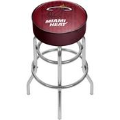 NBA Padded Swivel Bar Stool - City - Miami Heat