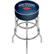 NBA Padded Swivel Bar Stool - City - New Orleans Pelicans