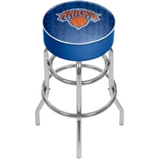 NBA Padded Swivel Bar Stool - City - New York Knicks