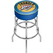 Oklahoma City Thunder NBA Padded Swivel Bar Stool