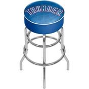 NBA Padded Swivel Bar Stool - Fade - Oklahoma City Thunder