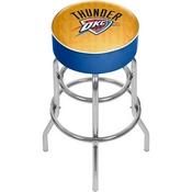 NBA Padded Swivel Bar Stool - City - Oklahoma City Thunder