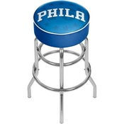 NBA Padded Swivel Bar Stool - Fade - Philadelphia 76ers