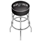 San Antonio Spurs NBA Padded Swivel Bar Stool