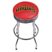 NBA Chrome Ribbed Bar Stool - Fade - Atlanta Hawks