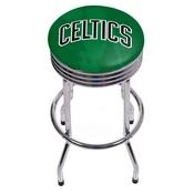 NBA Chrome Ribbed Bar Stool - Fade - Boston Celtics