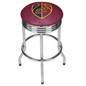 NBA Chrome Ribbed Bar Stool - City - Cleveland Cavaliers