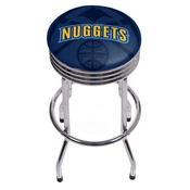 NBA Chrome Ribbed Bar Stool - Fade - Denver Nuggets