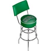 NBA Swivel Bar Stool with Back - Fade - Boston Celtics