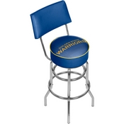 NBA Swivel Bar Stool with Back - Fade - Golden State Warriors