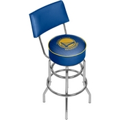 NBA Swivel Bar Stool with Back - City - Golden State Warriors