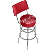 NBA Swivel Bar Stool with Back - Fade - Houston Rockets
