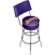 NBA Swivel Bar Stool with Back - Fade - Los Angeles Lakers