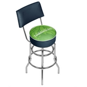 NBA Swivel Bar Stool with Back - Fade - Minnesota Timberwolves
