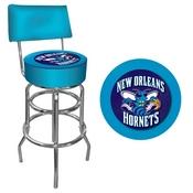 New Orleans Hornets NBA Padded Swivel Bar Stool with Back