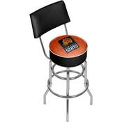 NBA Swivel Bar Stool with Back - City - Phoenix Suns