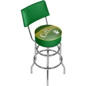 Boston Celtics NBA Hardwood Classics Bar Stool w/ Back