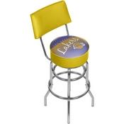 Los Angeles Lakers NBA Hardwood Classics Bar Stool w/Back