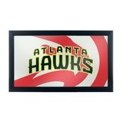 NBA Framed Logo Mirror - Fade - Atlanta Hawks