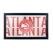 NBA Framed Logo Mirror - City - Atlanta Hawks