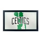 NBA Framed Logo Mirror - Fade - Boston Celtics