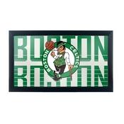 NBA Framed Logo Mirror - City - Boston Celtics