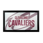 NBA Framed Logo Mirror - Fade - Cleveland Cavaliers