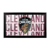 NBA Framed Logo Mirror - City - Cleveland Cavaliers